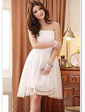 Elegant Strapless Knee Length Bridesmaid Dres... – EUR € 15.34