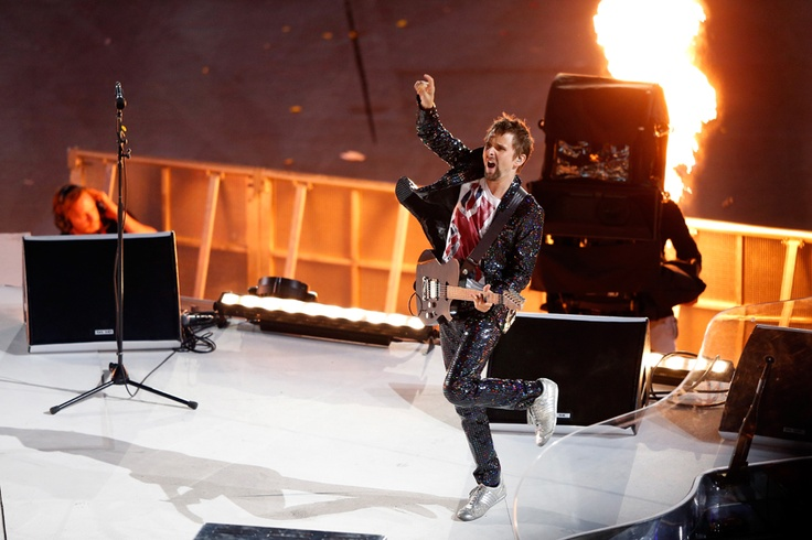 #London2012: #Muse performs at the Olympic Closing Ceremony!!