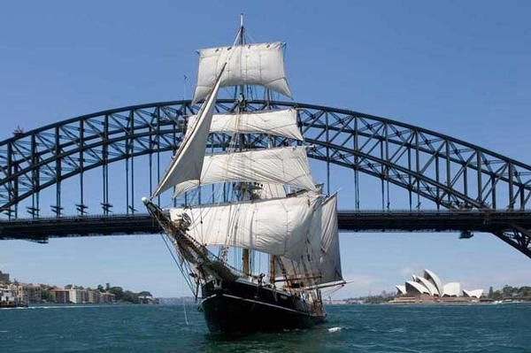 I got to see this pirate ship in sydney
