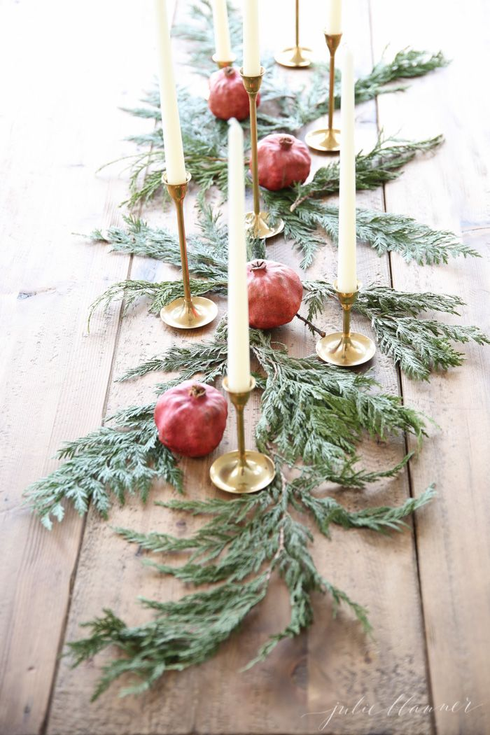 christmas-tablescape - Julie Blanner entertaining & design that celebrates life
