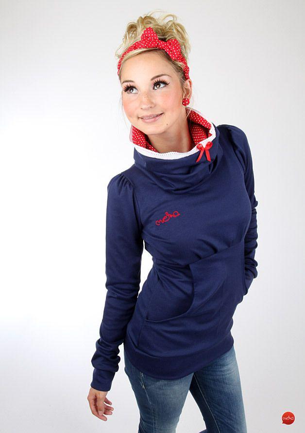 "Hoodies - MEKO Hoodie ""CARYNA_5SP6PK"" - ein Designerstück von meko bei DaWanda"