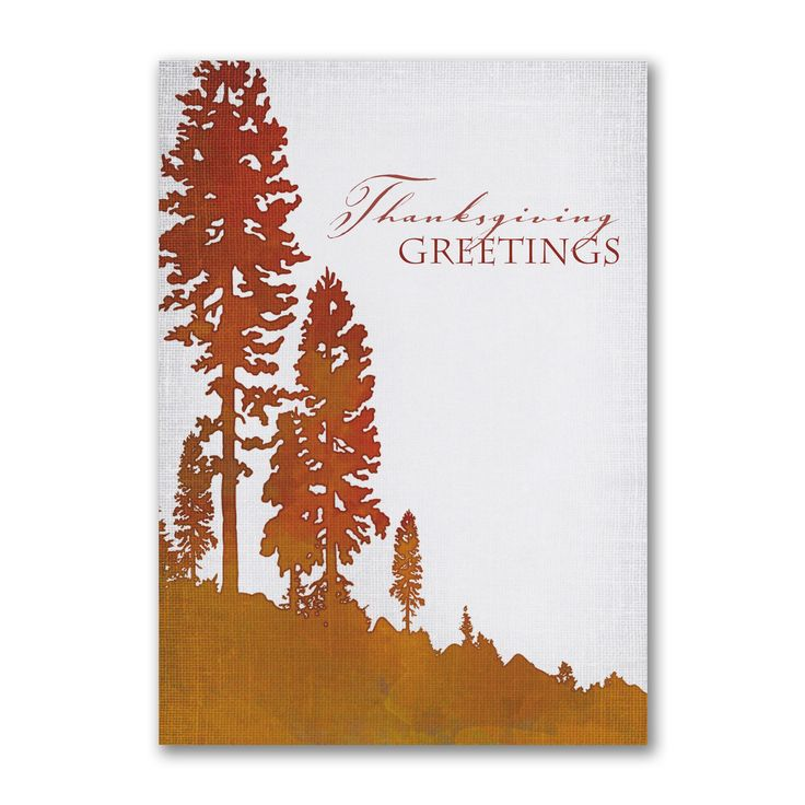 Rustic Woodsy Personalized Thanksgiving Greeting Cards http://partyblockinvitations.occasions-sa.com/Holiday/Thanksgiving-Cards/YM-YM54553FC-Rustic-Thanksgiving.pro