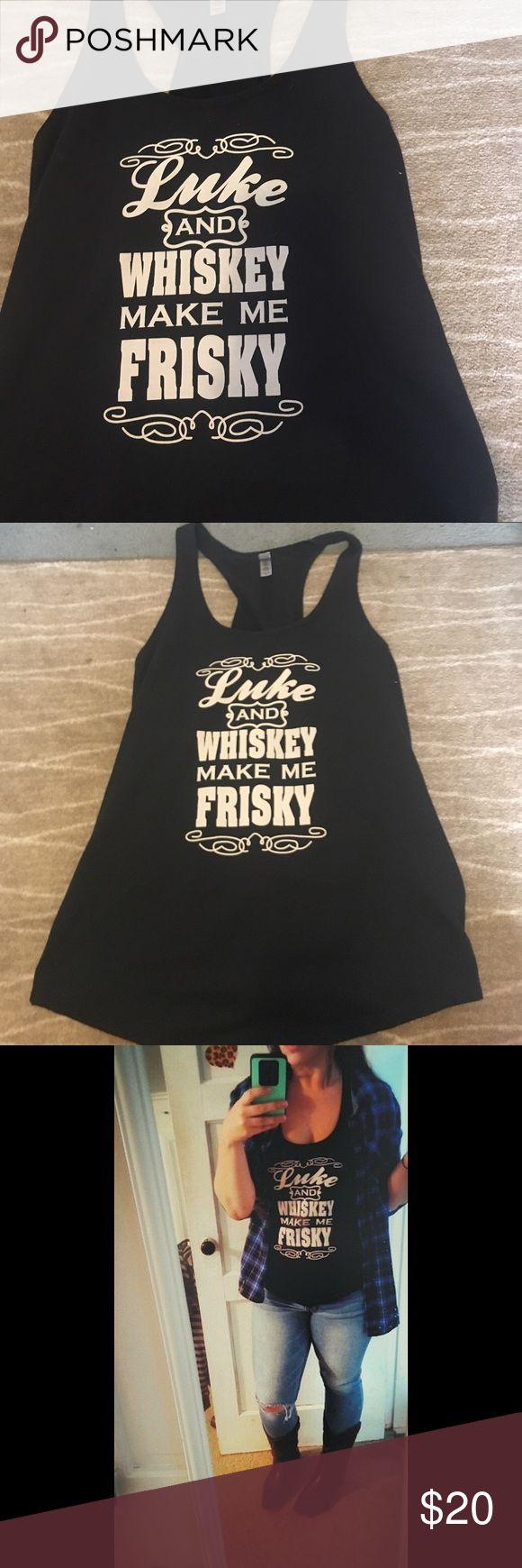 Luke Bryan tank Worn multiple times! Cute shirt for Luke Bryan fans! Tops Tank Tops