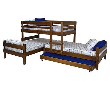 impressive space saver for bedroom lo line longwall bunk with standard bed divan foot and trundle - Bunkers Loft Bed