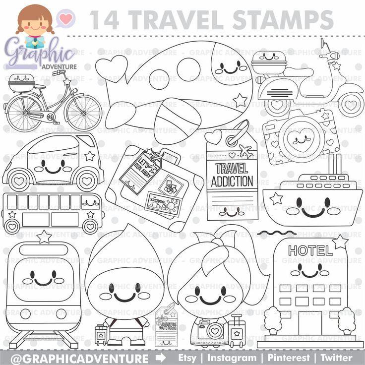25 Unique Travel Clipart Ideas On Pinterest