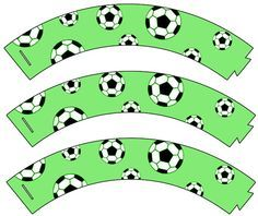 Free Printable Soccer Cupcake Wrappers - Printable Treats