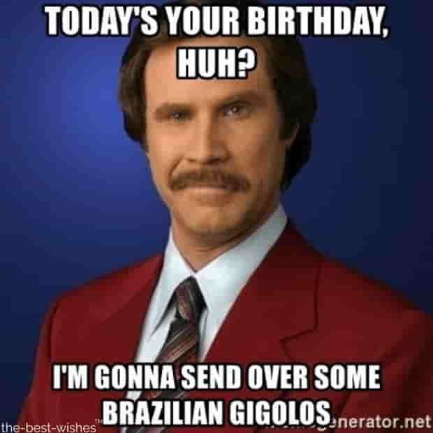 Top 100 Funniest Happy Birthday Memes Most Popular Funny Happy Birthday Meme Happy Birthday Funny Funny Drinking Memes