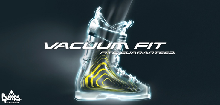 Fischer Vacuum Fit station at Bumps. The Ultimate boot fitting experience.