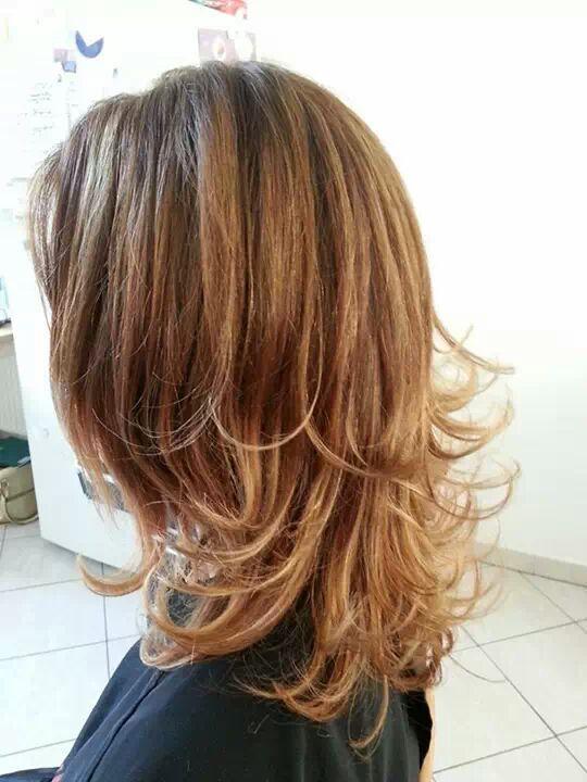 Coupe de cheveux femme long en v