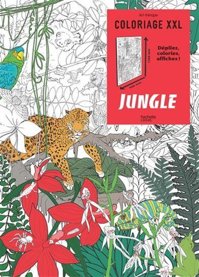 Des Posters De La Jungle A Colorier Au Gre Ses Envies Et Afficher