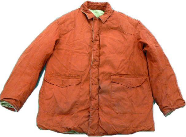 Vintage 1950s Reversible Down Hunting Jacket