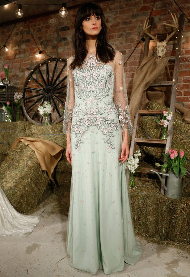 Свадебные платья Дженни Пэкхэм