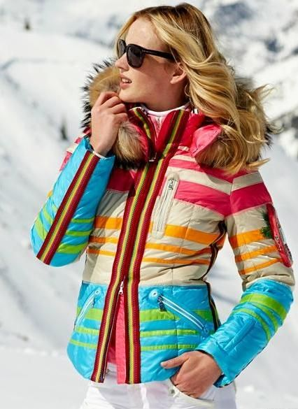 Bogner Retro Ski Jacket Winter Fashion Pinterest The