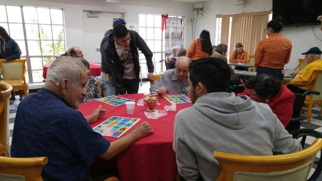 Loteria With Our Adopted Senior Citizen Home