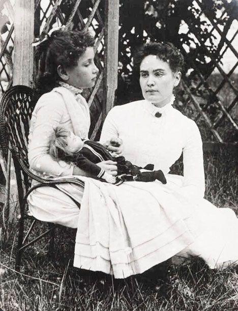 Anne Sullivan and Helen Keller - inspiring women
