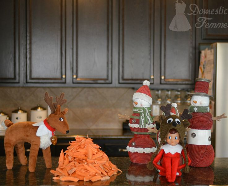 The reindeer got the munchies  - Elf On The Shelf 2015 Calendar (25+ NEW Ideas!) w/ FREE Printables!  #Christmas #Clothes #Costume #Day #Easy #Elves #Eve #Fast #Food #First #Funny #Girl #Good #Goodbye #Hiding #Hilarious #Holiday #Jesus #Jokes #Kid #Kindness #Lazy #Magic #Minutes #Mischief #Moms #Movie #Moving #Night #Old #Pajamas #Pet #Photos #Pictures #Planner #PJs #Pranks #Quick #Random #RAK #Reindeer #Returning #Toddlers #Tradition #Tricks #Video #Xmas #Year #Young