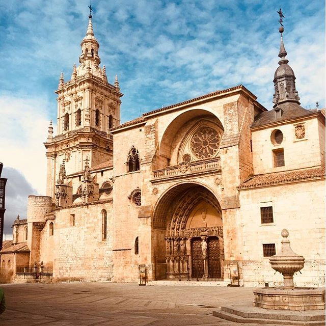 Burgo de Osma Cathedral, Spain is one of the best preserved medieval buildings in the country and is considered one of the best examples of thirteenth-century gothic architecture in Spain