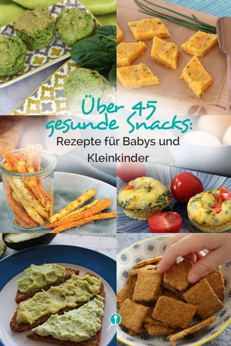 """""""Snacks, Baby"""" – DAS eBook für gesunde Snacks   – Familienkost-Rezepte für Babys ab 8-10 Monaten und Kleinkinder"""