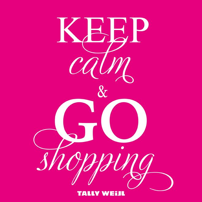 I Love Shopping Quotes | by: Tally - New York - November 18, 2012 2:00 pm