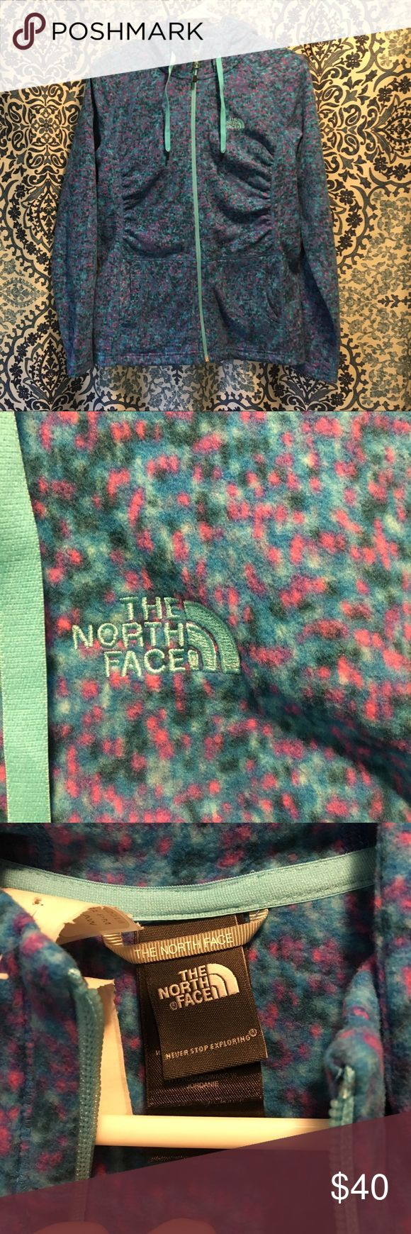NWOT North face fleece jacket NWOT north face fleece jacket. Great for spring and fall. Fun pattern! The North Face Jackets & Coats