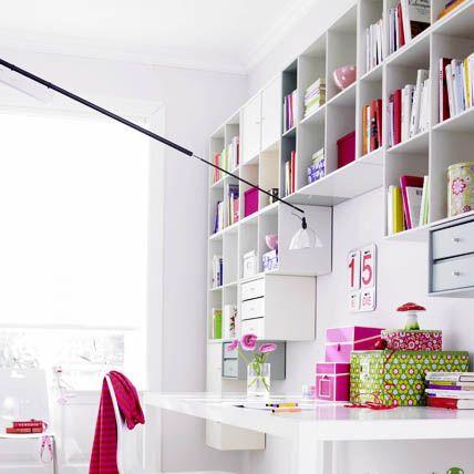 Stauraum einrichten - Arbeitszimmer: Tipps für die Einrichtung - [LIVING AT HOME]