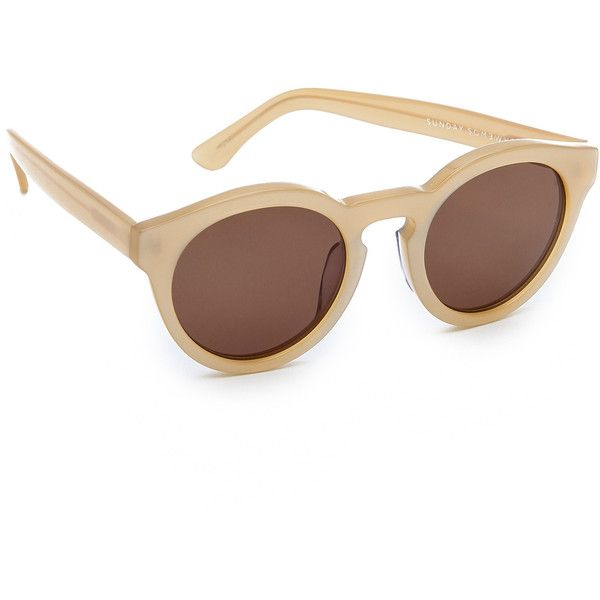 Sunday Somewhere Woman Aviator-style Rose Gold-tone Sunglasses Rose Gold Size Sunday Somewhere f9dLHxGAEx