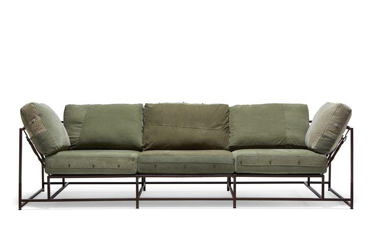 Military Canvas Sofa – Stephen Kenn