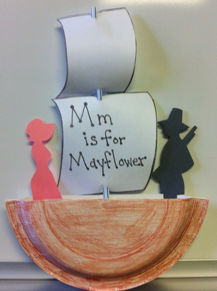 is for mayflower craft | Thanksgiving crafts | Pinterest