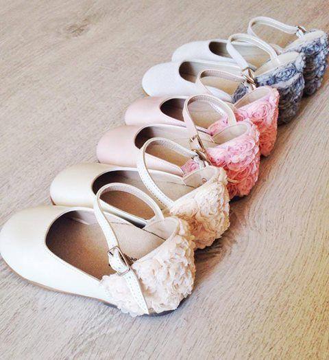 BABYWALKER luxury shoes.. Flower balarinas in NEW versions