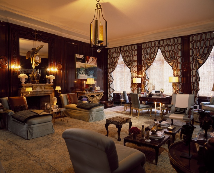Great Room TraditionalNeoclassical Transitional by Alex Papachristidis  Interiors