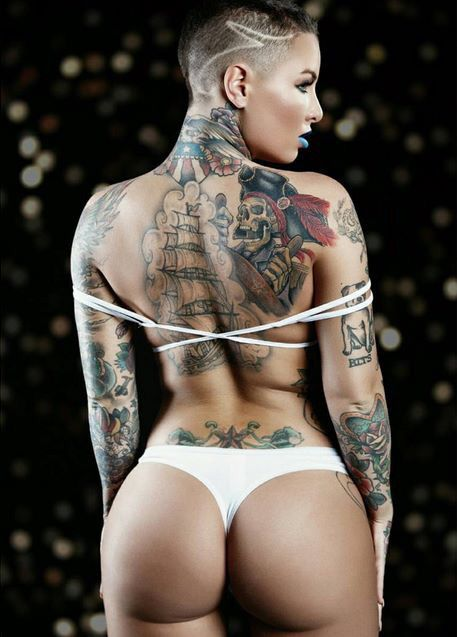 Time Christy mack tattoo