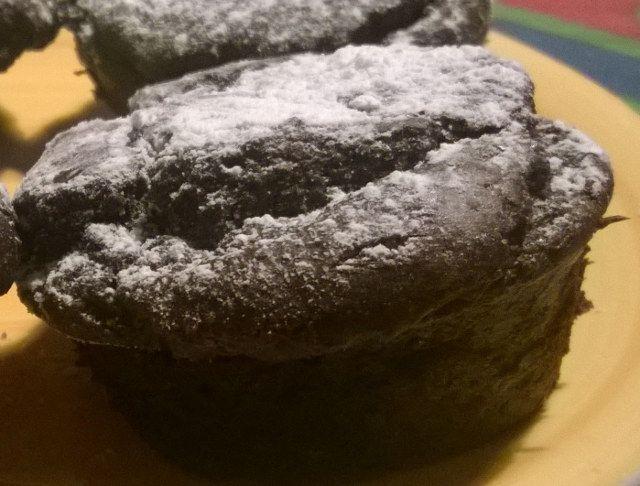 Cuore caldo di cioccolato vegan