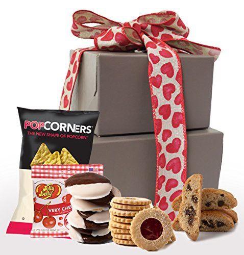 Las 25 mejores ideas sobre gluten free gift baskets en pinterest kosher valentines day gluten free gift basket gluten free valentine treats negle Images