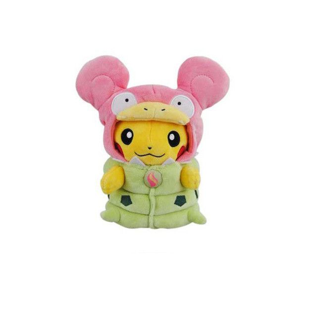 9 Inch Pikachu Mega Evolution's Cosplay Pokemon Plush Toy - Mega Audino Mega Sableye Mega Lucario Mega Slowbro Mega Altaria