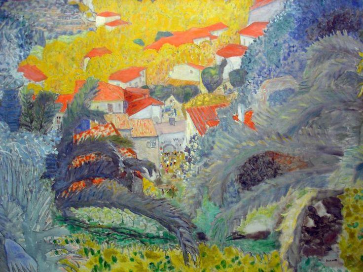 Pierre Bonnard - Vue du Cannet