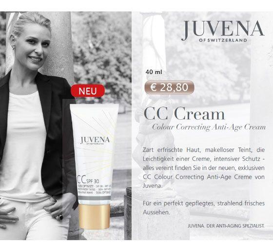 #Juvena CC Cream - jetzt inkl. GRATIS Gesichtsbürste im Set mit der Miracle Boost Essence.
