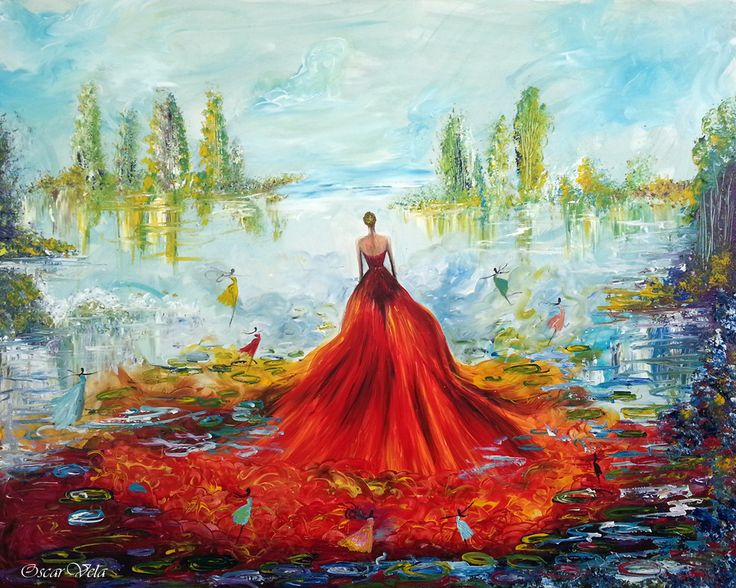 Painting by Artist www.oscarvela.dk
