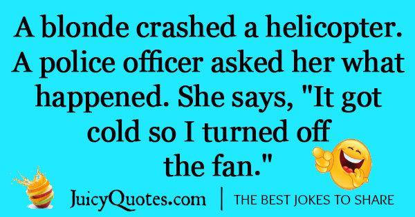 Funny Blonde Joke -47