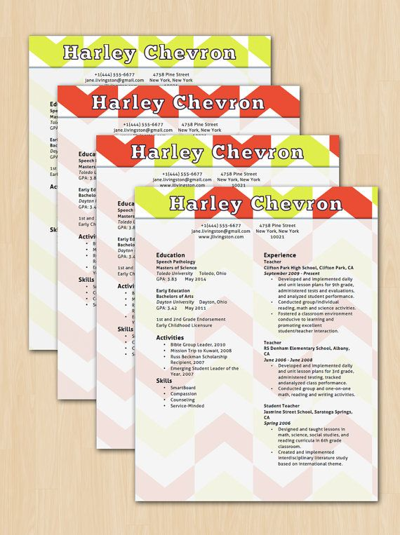 42 best Our Resume Templates images on Pinterest Resume - how to get resume templates on microsoft word