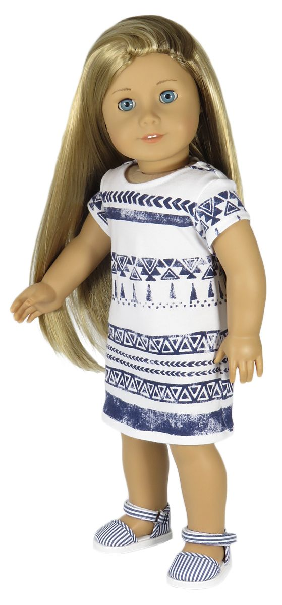 Silly Monkey - White Knit Dress with Navy Tribal Print, $13.49 (http://www.silly-monkey.com/products/white-knit-dress-with-navy-tribal-print.html)