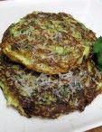 Dukan Diet Recipe Zucchini Panckes