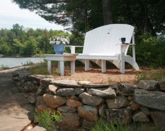 Adirondack Family Bench or Loveseat Plans- DWG files for CNC machines