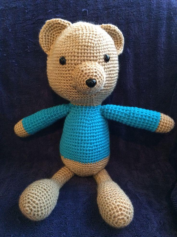 Thomas the teddy. 43cm long.  $30.00