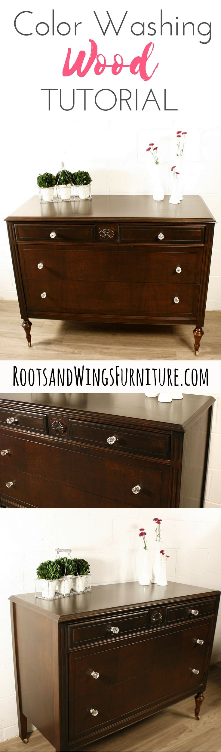 A tutorial video by Jenni of Roots and Wings Furniture How to color wash  over. Colored Wood Stains Furniture   penncoremedia com