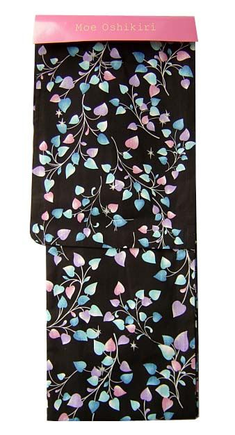 I really like this yukata; to me, it feels really unique and classy, but still fun. I would love to wear it to a festival at night.