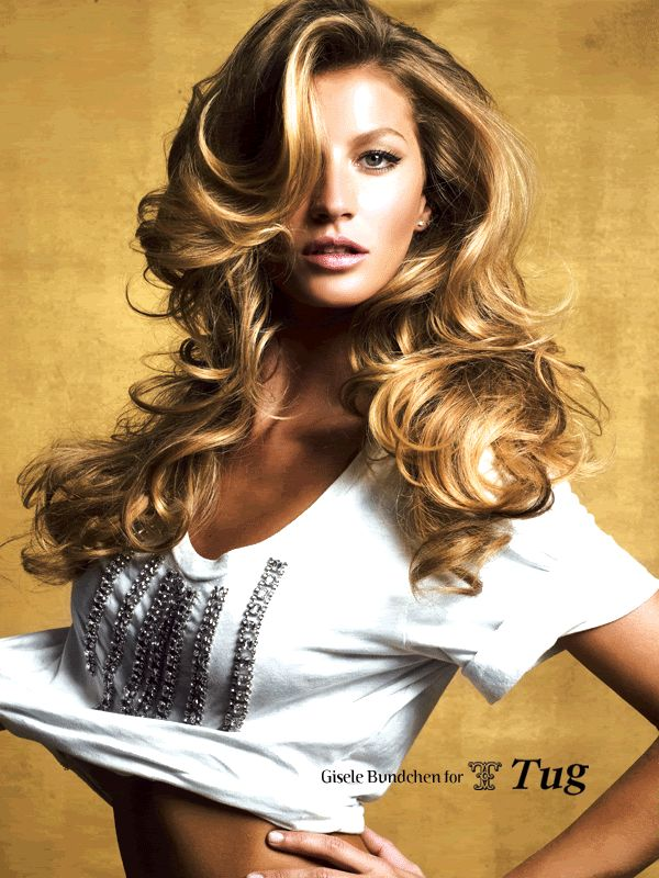 gisele - big wavy hair