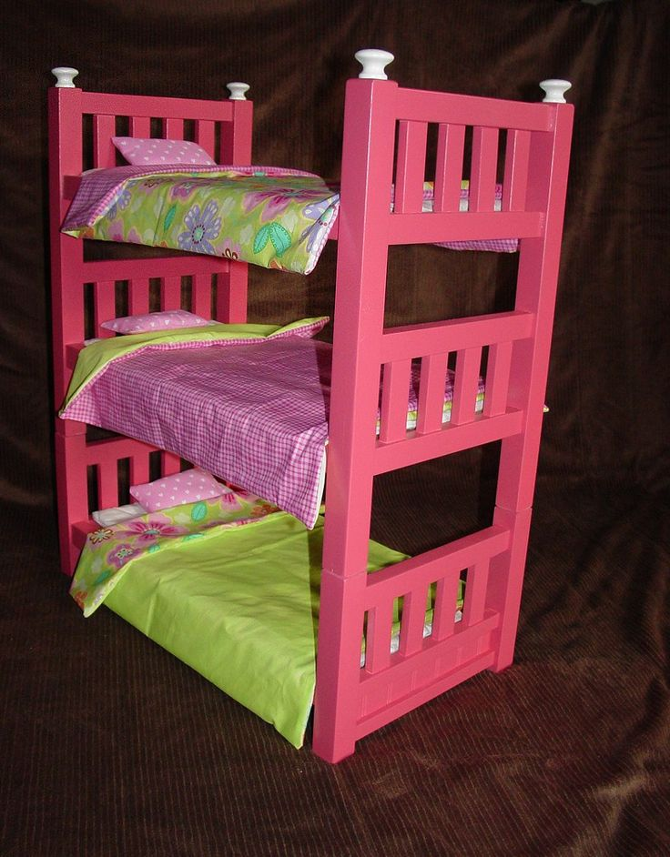 Best 25 18 Doll Bed Ideas On Pinterest Diy Doll Bunk 5270024
