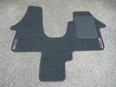 """Car mats in anthracite to fit vw transporter t5 2 #seater + #""""sportline"""" #logos,  View more on the LINK: http://www.zeppy.io/product/gb/2/221828452447/"""