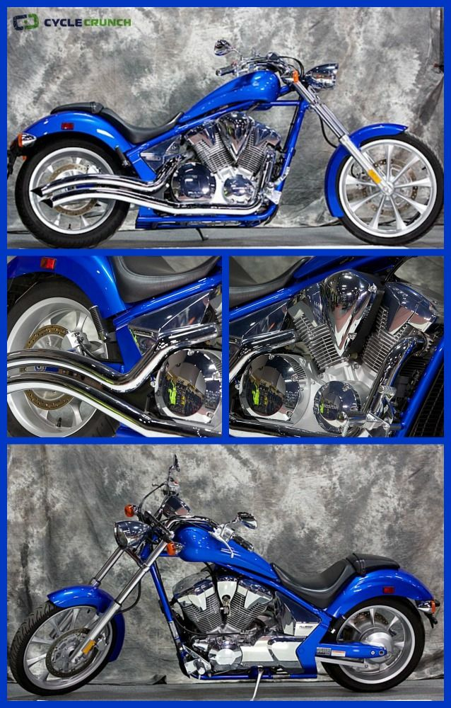 FOR SALE: 2010 #Honda #Fury || Click on the image for the full listing details, more photos, & seller's contact info, or visit: www.CycleCrunch.com/435906 || #metric #cruiser #chopper #motorcycle #2wheels #livetoride #letsride #cyclecrunch
