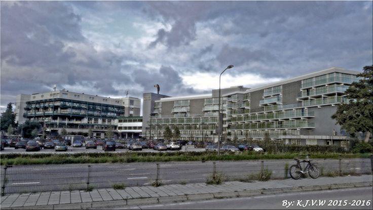 https://flic.kr/p/D8Mwtk | Van Der Valk Haarlem | Old And New Wing of the Hotel.
